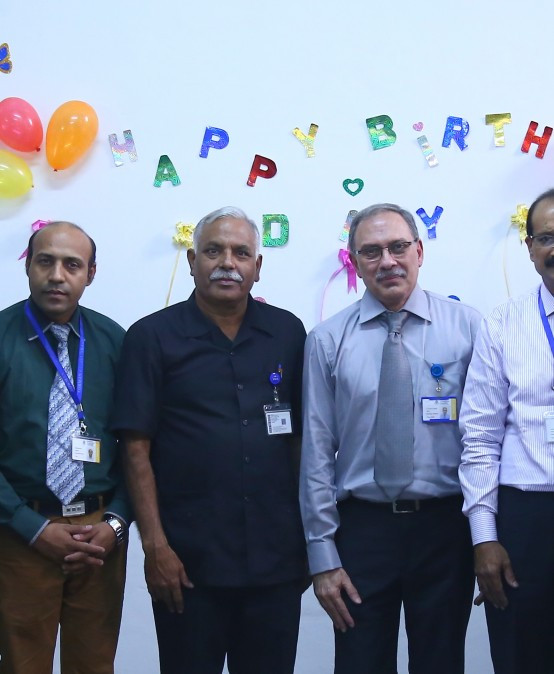 Department of Urdu celebrates Intermediate Vice Rector's Birthday