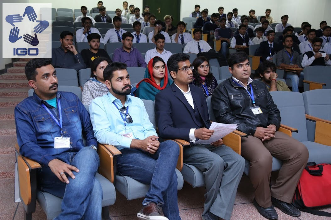 IGO organized a Career Counseling Session in collaboration with PAF Recruitment Center, Lahore