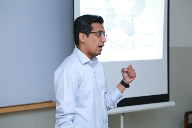IGO holds Information and Discussion Session with New Faculty Members