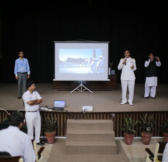 IGO Organizes Session on Career Opportunities in Pakistan Navy