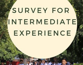 Survey For Intermediate Experience