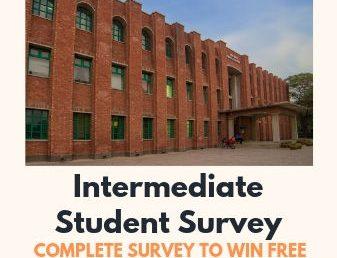 Intermediate Student Survey