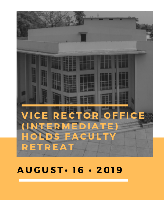 Vice Rector Office (Intermediate) Holds Faculty Retreat