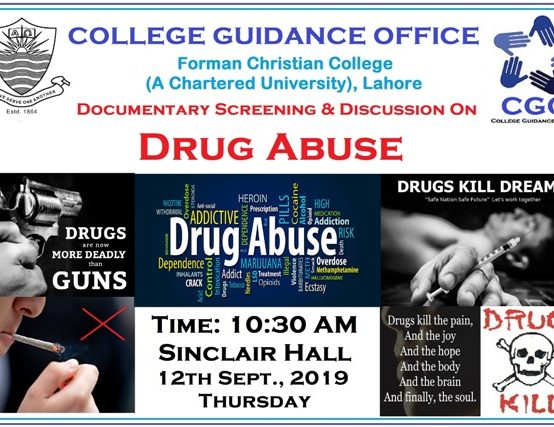 College Guidance Office to Screen Documentary on Drug Abuse