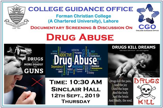 CGO Drug Abuse