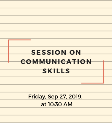 Session on Communications Skills
