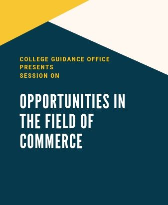 CGO Presents Session on Opportunities in the Field of Commerce