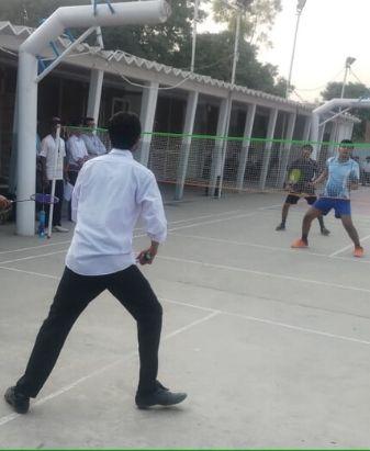 Sports Department Holds 1st Intermediate Intramural Badminton Championship