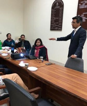 CGO Organizes Interactive Information Session with New Faculty