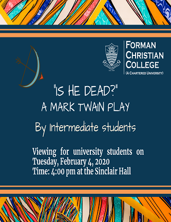 Annual English Play by the Intermediate Students