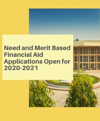 Need and Merit Based Financial Aid Applications Open for 2020-2021