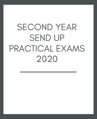 Second Year Send up Practical Exams 2020