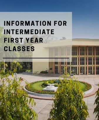 Information for Intermediate First Year Classes