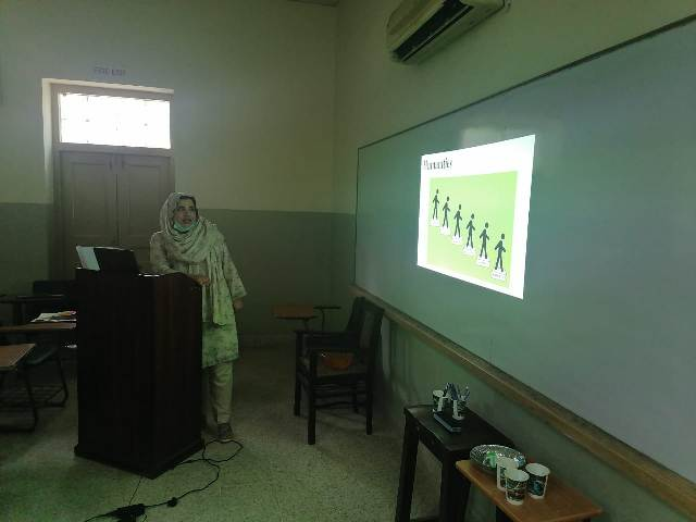 Dept of English Organizes Training Session for Faculty