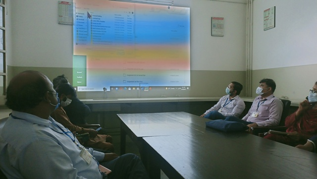 Dept of Physics Organizes a Series of Capacity Building and Brainstorming Sessions